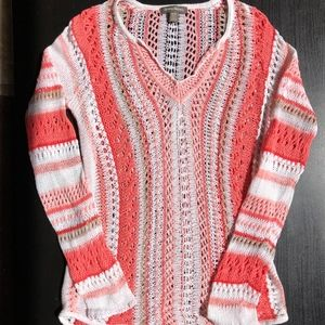 Tommy Bahama Crochet Tunic Swimsuit Cover Up